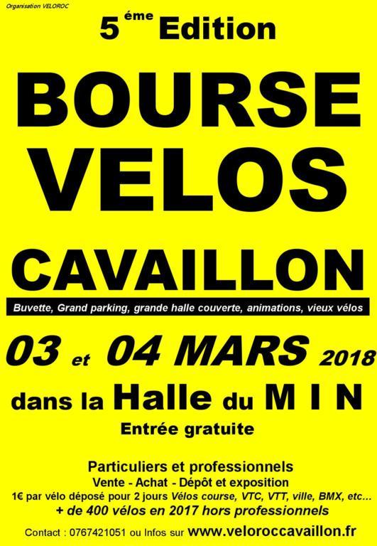 [3 Mars - Bourse au vélos Cavaillon] 5a75f8b29c68a_Affichebourseauxvelos2018